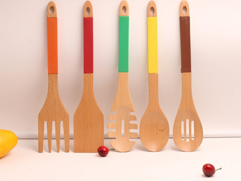 Natural excellent cooking wooden kitchen tools (6)